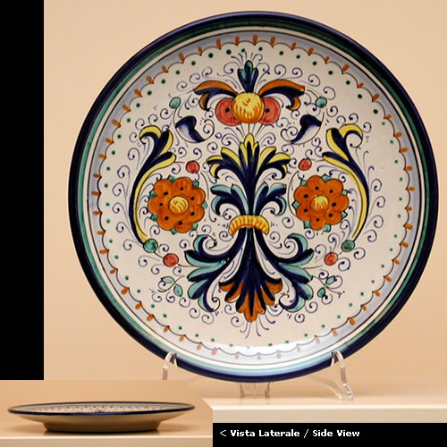 The finest hand-made hand-painted pottery and italian ceramic & Hand painted Ceramic plates dinnerware sets fo420 25