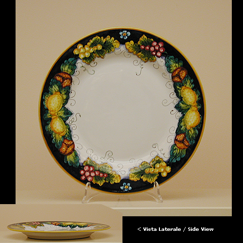 View details · PLATES UL210D 28E & Italian Decorative Plates Tuscan Dinnerware | Leoncini Italy