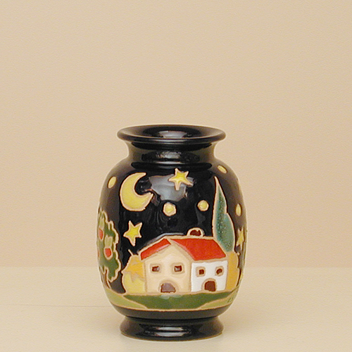 Hand Painted Ceramic Vases Pottery Nb101a 12