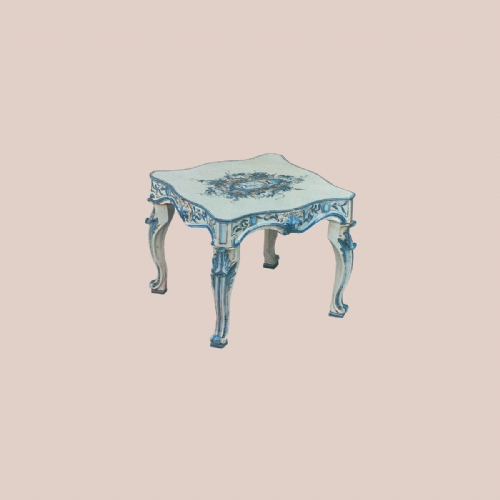 A436 52 / COFFEE TABLE OF CERAMIC IN CLASSICAL DESIGN
