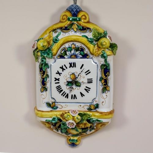 Hand painted Italian Ceramic Wall Clocks Buy Online | Leoncini