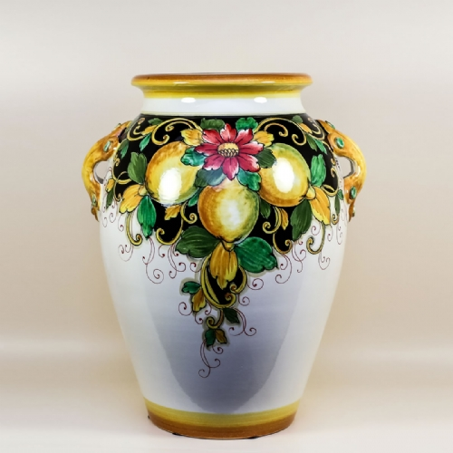 Large Italian Ceramic Big Vases Jars Buy Online Leoncini Italy