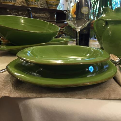 Italian Decorative Plates Tuscan Dinnerware | Leoncini Italy