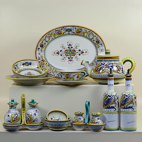 ... Raffaellesco ... & Online Italian HandPainted Pottery u0026 Ceramics Leoncini Italy